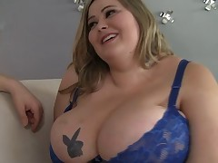 Fat blonde's erection is all a drawing fellow wants to drill everlasting