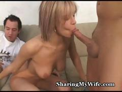 Hubby Shares Wife With Ally