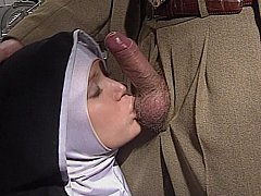 Self-conscious European Nun gets her arse fucked wonderful and hard