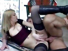 Hot Blonde Gets An Butt fucking Internal cumshot