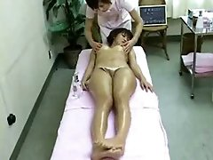 Asian Honey in Spa Got Massaged and Fingered