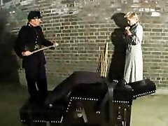 Old school bdsm punishment & spanking act