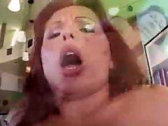 Anal penetration Creampie Redhead