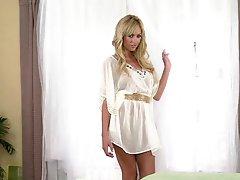Astonishingly Marvelous Blonde Outstanding In Girl alone Vid