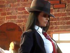 The Hottest Lalin girl Mafia Boss Ever Mikayla Mendez Fucks Her Tailorman