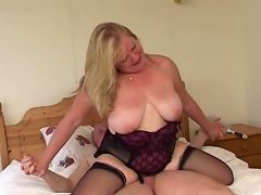 Nothing is compare to this luscious old granny wench when it comes to...
