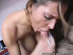 Breasty Hottie Sex Tape