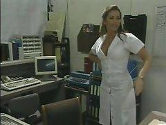 Horny Retro Nurse Shanna McCullough Masturbating
