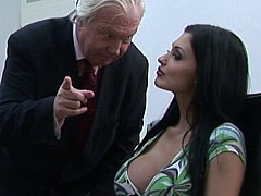 Oral-service sex with help of their boss