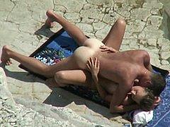 Dilettante pair on a beach