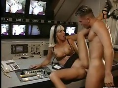Porn plays as those two fuck hard on camera