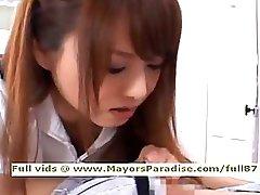 Akiho Yoshizawa from idol69 filthy oriental nurse loves to do orall-service
