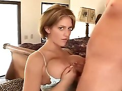 Incredible billibongs and lingerie on this HJ and tittyfuck honey