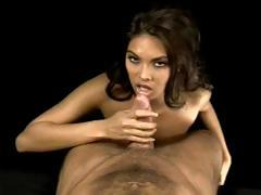 Sexy Latina hotty gives a POV oral and gets fingered and fucked