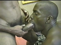 Acquire to see a queer Black fellow indulging his nasty holes with a huge...