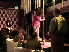 Brandin Rackley and Christine Nguyen Working in a Strip Club