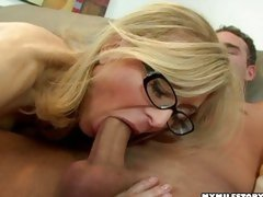 You are never too old to be a whore! Nina Hartley can still swallower biggest dicks