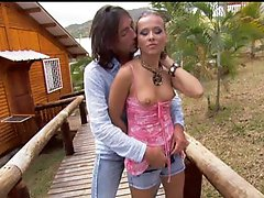 Sonia Carter Getting Screwed Outdoors With Her Panties On