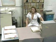 Stunning Blonde Nurse Capri Cameron Sucks and Bonks a Patient's Cock