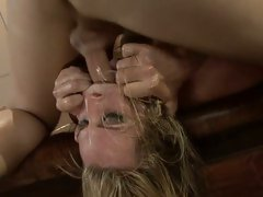Harmony Rose getting her face fucked hard and unfathomable