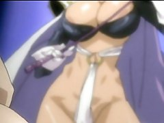 Chained manga girls acquires castigation by tgirl Phantom Lady