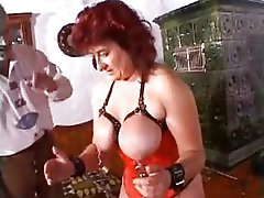 Extreme milf mother granny perverted massive dildos and extreme s&m slit torment