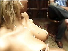 Smoking Hot Masked Latina Honey Receives Fucked and Overspread In Thick Cum
