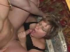 Mature From Germany Floozy Lucky With Man