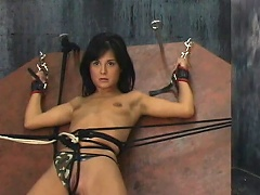 Britt has biggest tits and they are real! Their master ties 'em up very...