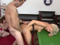 Billiard game is not sufficiently for this naughty slut Cara Lott to enjoy,...