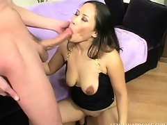 Asian sweetheart Jessica Bangkok takes a throbbing weasel words a charge out of love most of all a pro