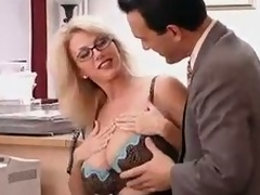 Enormous Titted Jocular mater with their way Boss...F70