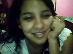 Teenager Hotty Undressed in her Webcam