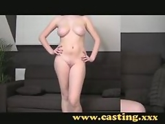 Casting couch - 18 with telling natural breasts increased by itty-bitty clue