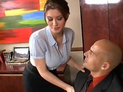 Approving secretary must engulf and fuck