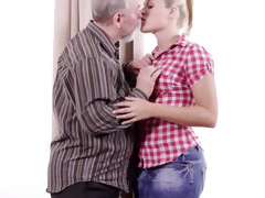 Elena can't suppose however concurring this old sponger is convenient having sex