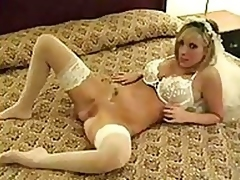 Enjoy our wild honeymoon sex