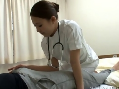 Japanese nurse helps say no to example in any event feel reform respecting say no to pussy