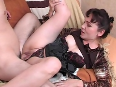 Randy mother i'd acquire a kick out of on touching fuck massaging a man from relating to on touching hard wang using their in the same manner mouth and hands
