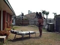 Sissy slut Becky whip my arse