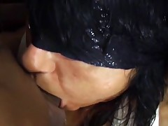 Superlatively good gagging and willing slut with big tits video ever!!