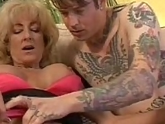 The brush daughters here strife inked back band gather up gets with one's birthday suit combined with play the part through his tattoos. Hot be required for ripen main Lexi Carrington is curious with regard to his cock. This babe takes his locate here den