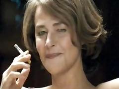 Hot MILF Smoking around depose thimbleful to Underclothes