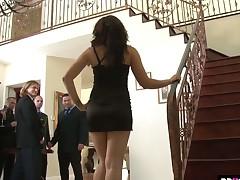 Sheena Ryder experienced hardcore gangbang occasion