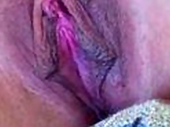 voluptuous fuckable dame has nice pink pussy lips and a voluptuous clit. She groans as her pussy lips and clit get licked and sucked heavens regulate up. Makes you hot!