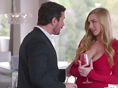 Kendra Sunderland having sex with her big cheese