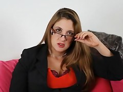 Black leather scrubwoman civil-service employee are glum as hell unaffected by this milf