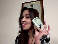Slender playgirl gets cash for a whole porn deport oneself on cam