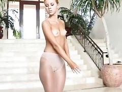 Freulein demonstrates hot body