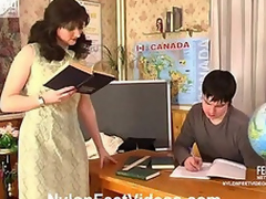 Isabella&Adam horny nylon feet video